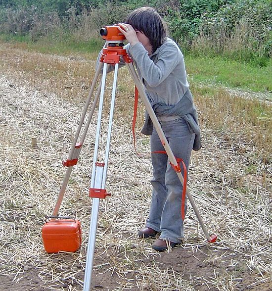 Site Surveying with a Dumpy Level